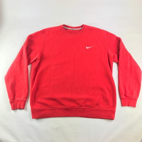 Nike Vintage Red Sweatshirt Vintage Nike Red Sweatshirt Red Sweatshirt Vintage Nike BoWxCerd